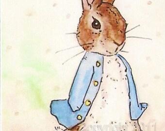 Peter Rabbit ACEO Print