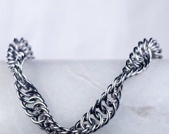 Chainmaille Bracelet - Simple Spiral Pattern