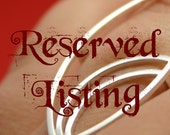 Reserved listing for JessicaYo