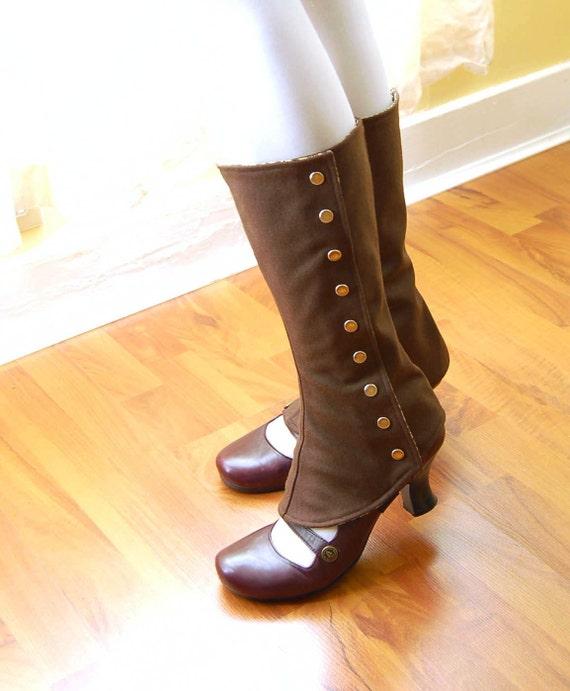 Autumn Tall Spats - Standard or Custom Size