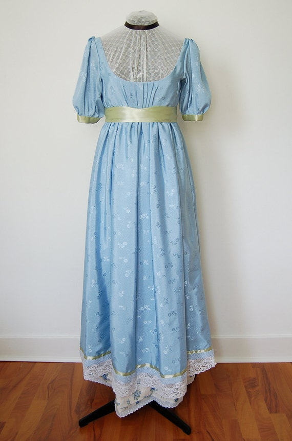 Recycled Regency Dress