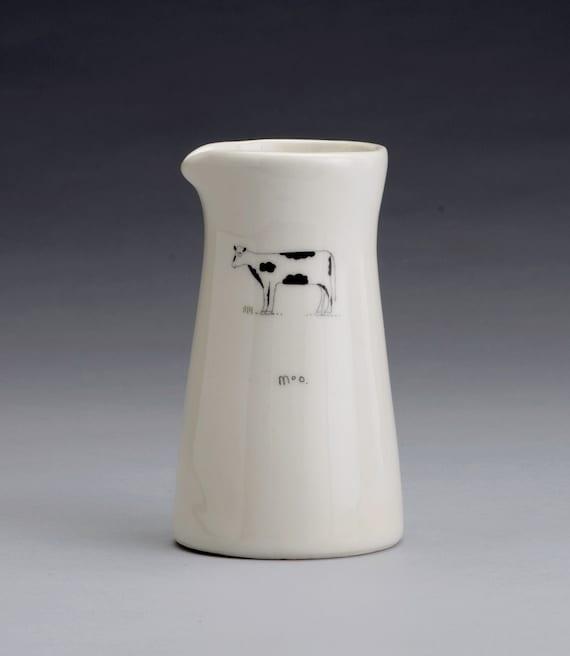 moo cream pitcher