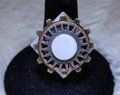 Steampunk Ring in Copper Tone