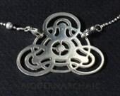 The  crop circle pendant