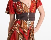 Tribal Call Dress XL