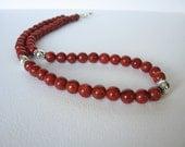 Necklace - Sponge Coral - Sterling Silver