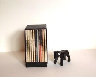 60s Short Story Intl Set Paperback Books w Case Tankel Instant Collection