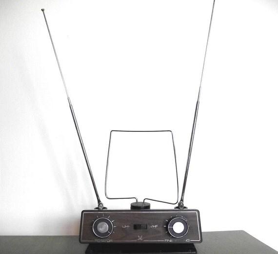 60s Rotator TV Antenna Vintage Antenna
