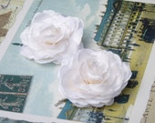 Romantic Ivory Rose Bobby Pins/ Hair Pins
