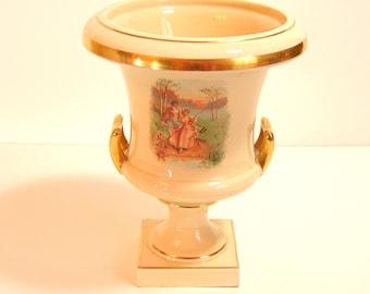 Vintage Trenton Pottery Ceramic Urn