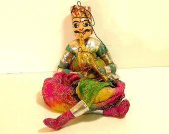Sultan Doll, Vintage Folk Doll