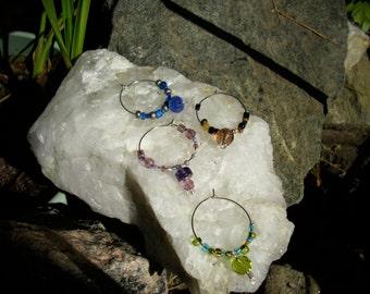 stemware charms set of 4