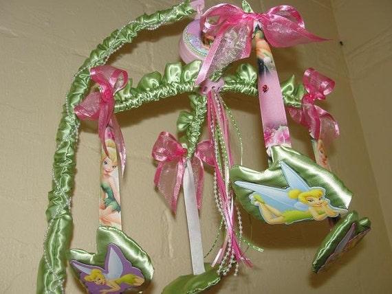 Tinkerbell Crib Mobile Fairy Mobile
