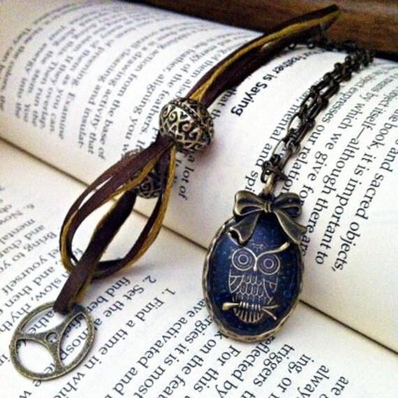 Owl, Necklace, Handmade
