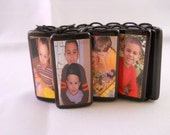 Family Photo Bamboo Tile One-size-fits-all Bracelet