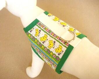 Easter Chick Dog Harness Vest