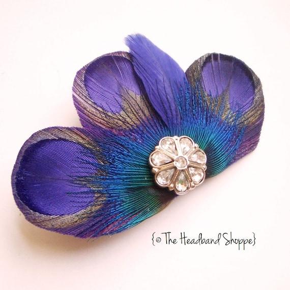 Reserved: 1 Carly Mini Purple on  a Headband