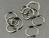 Jump RINGS 100 pcs of STAINLESS Steel Jump Rings Link Surgical Jumprings 5mm 21G Necklace Bracelet Wholesale Jump Rings Bulk Jumprings