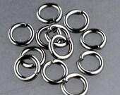 Jump RINGS 100 pcs of STAINLESS Steel Jump Rings Link Surgical Jumprings 5mm 18G Necklace Bracelet Wholesale Jump Rings Bulk Jumprings