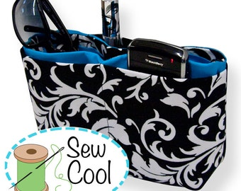 Purse Organizer ((INSTANT DOWNLOAD)) PDF Sewing Pattern