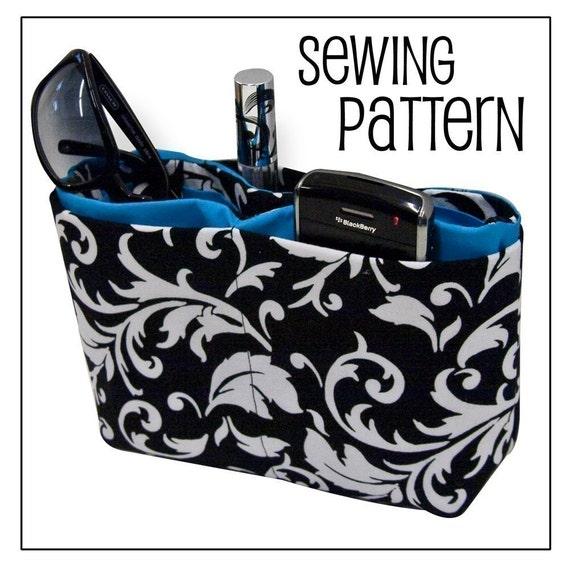 PURSE ORGANIZER ((PDF Sewing Pattern))