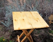 Grande Table pliante en bois