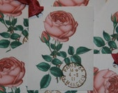 Sweet Pink Paris Rose Gift Tags