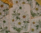 Daisy Flowers Gift Tags