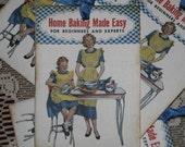 Retro Baking Recipe Book Tags