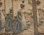 Victorian Christmas Tags, Victorian Christmas Morning Vintage Christmas Gift Tags, Holiday Tags