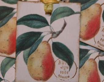 Pears Gift Tags
