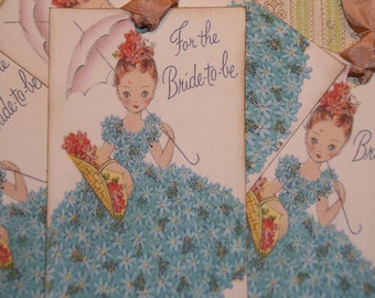 For The Bride To Be Bridal or Wedding Gift Tags