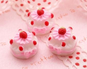 Lolita Deco Cake Cabochon - 5pcs