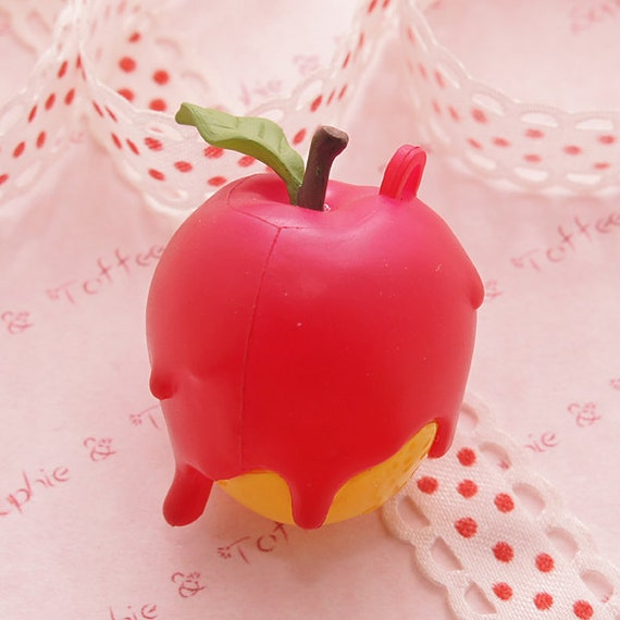 1pc Snow White's Apple Charm - Melted Whimsical Charms Series