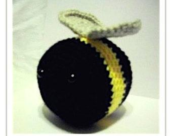 Crochet Stuffed Bee