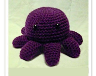 Crochet Stuffed Octopus