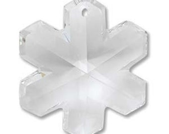 Swarovski Crystal Snowflake 25mm