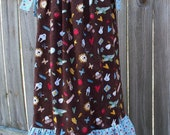 SBS sz 5 - Playful School Print Pillowcase Dress