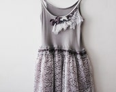SALE Lavenders on Snow DRESS