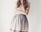 Sari SILK Skirt mini romantic