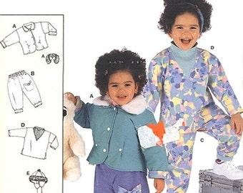 Vintage Burda Children's Jacket, Pants and Top Sewing Pattern