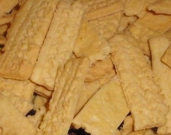 Classic Cheddar Cheese Straws Bulk Order approx 2 lbs