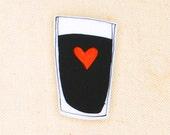 Love Guinness - Pin\/Brooch