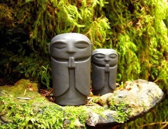 Jizo Statue Garden Zen Monk Statue Jizo in