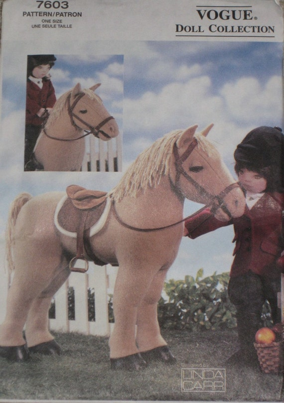 Horse for American Girl Doll Sewing Pattern Vogue 7603