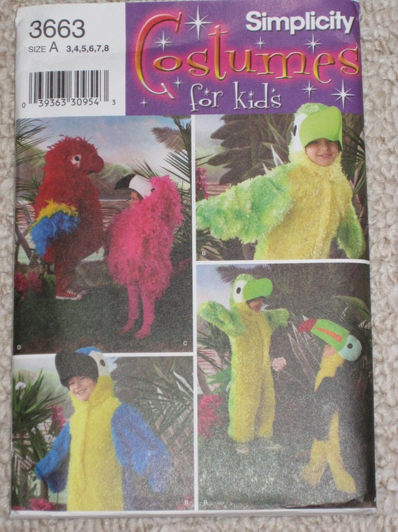 Flamingo Halloween Costume Pattern http://www.etsy.com/listing/31451867/flamingo-bird-halloween-costume-pattern