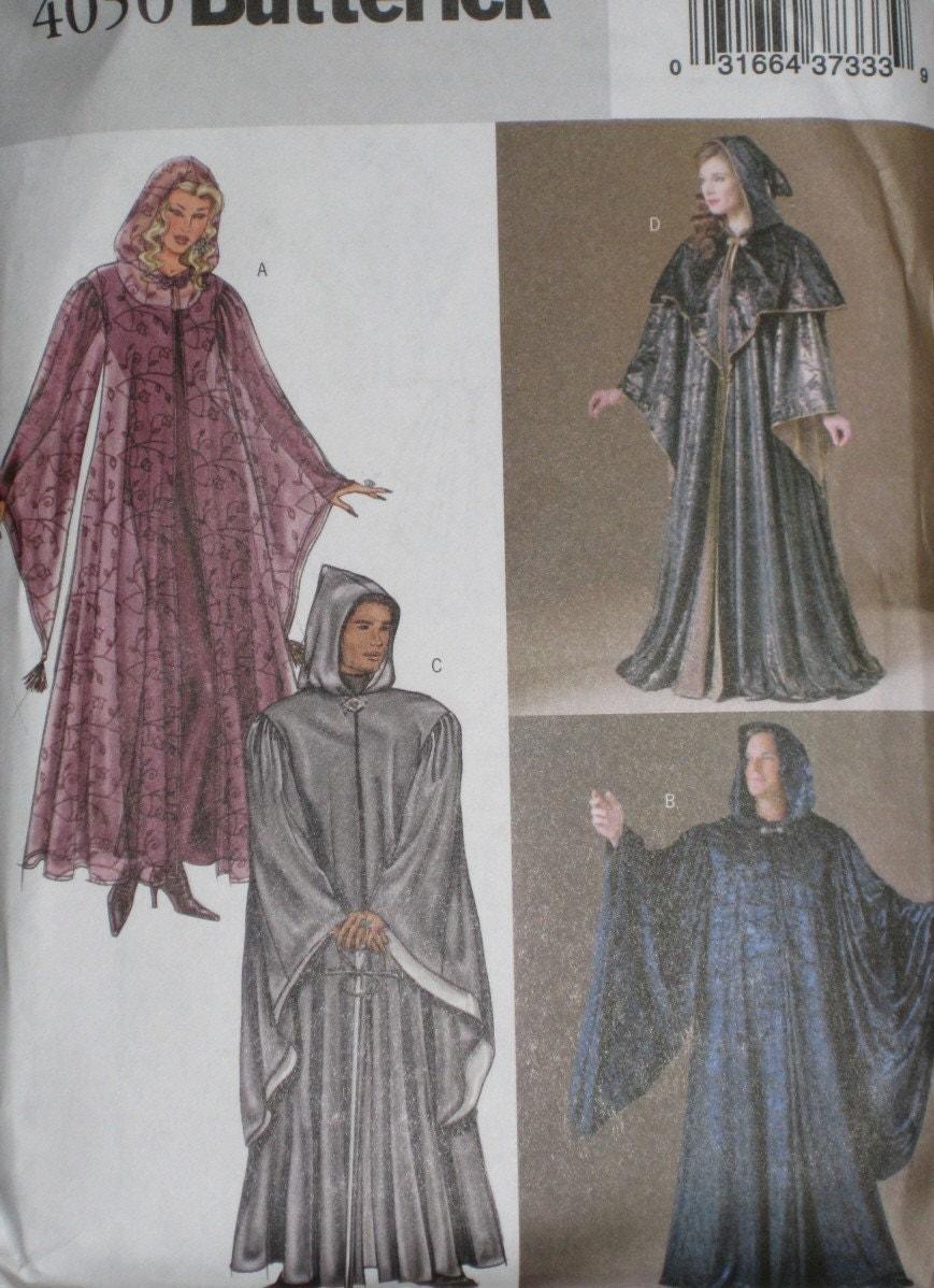 Hooded Cloak Pattern