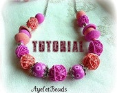 Multi beads Necklace and bracelet tutorial