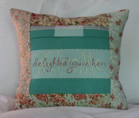 Guest Room Decor Shabby Cottage Decorative Pillow
