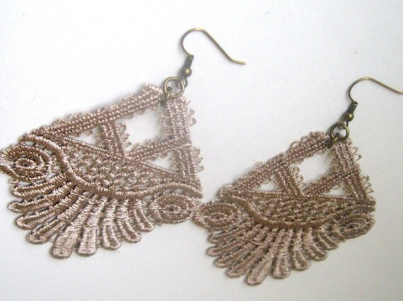 The Stella Lace Statement Earrings